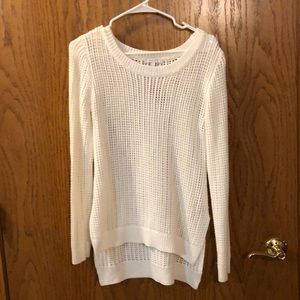 Delia's White Sweater